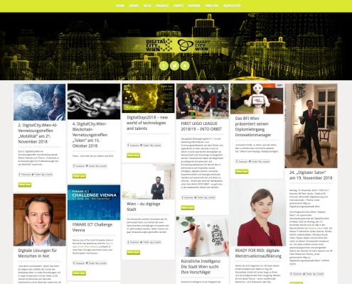 DIGITALCITY Wien Website